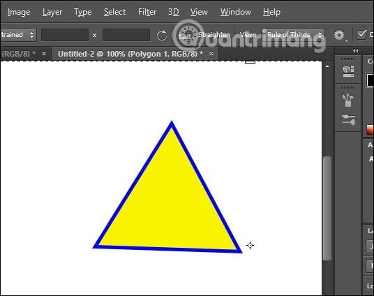 Vẽ hình tam giác