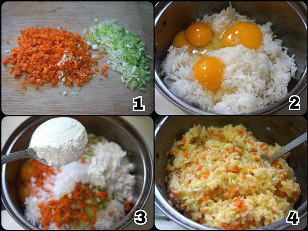 Cách làm cơm nguội trứng rán