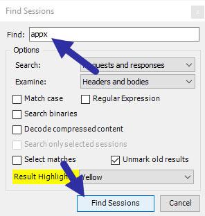 Nhấp vào nút Fine Sessions