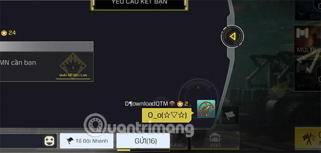 viết ký tự đặc biệt call of duty mobile vng android