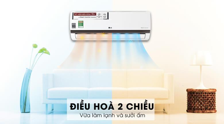 Máy điều hòa 2 chiều giúp bạn tiết kiệm chi phí mua máy sưởi
