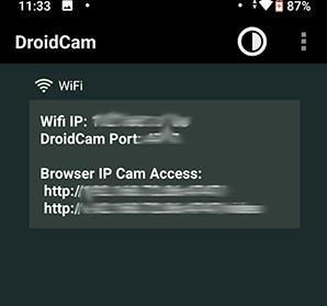 IP và Port được cấp sẵn