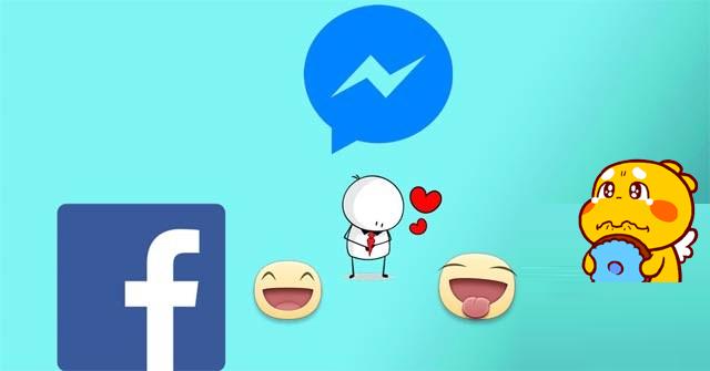 Cách tải sticker khi chat, bình luận trên Facebook