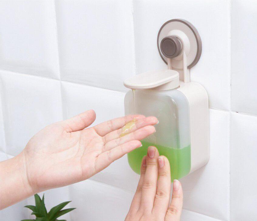 Vì sao nên sử dụng hộp đựng xà phòng, nước rửa tay gắn tường?