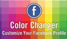 Cách đổi màu nền Facebook