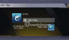 Cách đổi tên nhân vật Call of Duty Mobile VN