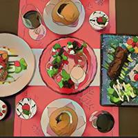 Cách dùng Foodie chụp ảnh đồ ăn kiểu Anime