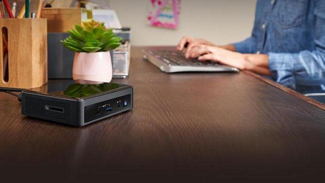 Các thiết bị Intel NUC cho phép bạn tùy chỉnh thiết lập của mình