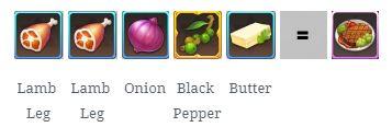 công thức nấu ăn laplacem level 15