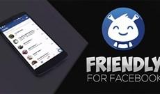 Cách dùng Friendly for Facebook gộp Facebook với Messenger