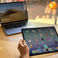 So sánh MacBook Pro 13 inch với MacBook Air và iPad Pro