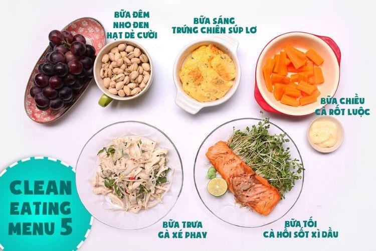 Thực đơn Eat Clean đơn giản, dễ làm