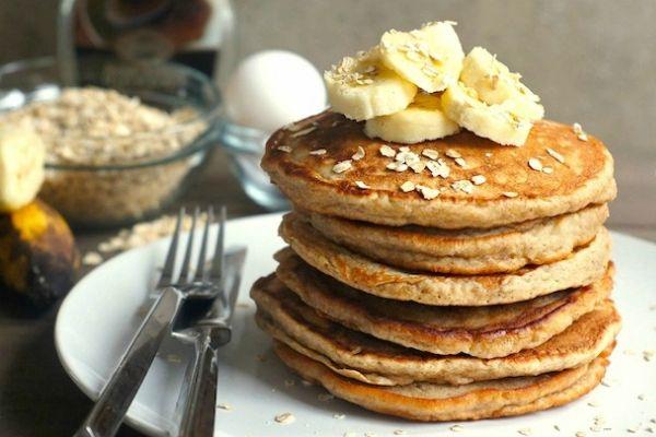 Bữa sáng Eat Clean với pancake yến mạch