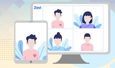 Cách dùng Zavi Metting học online