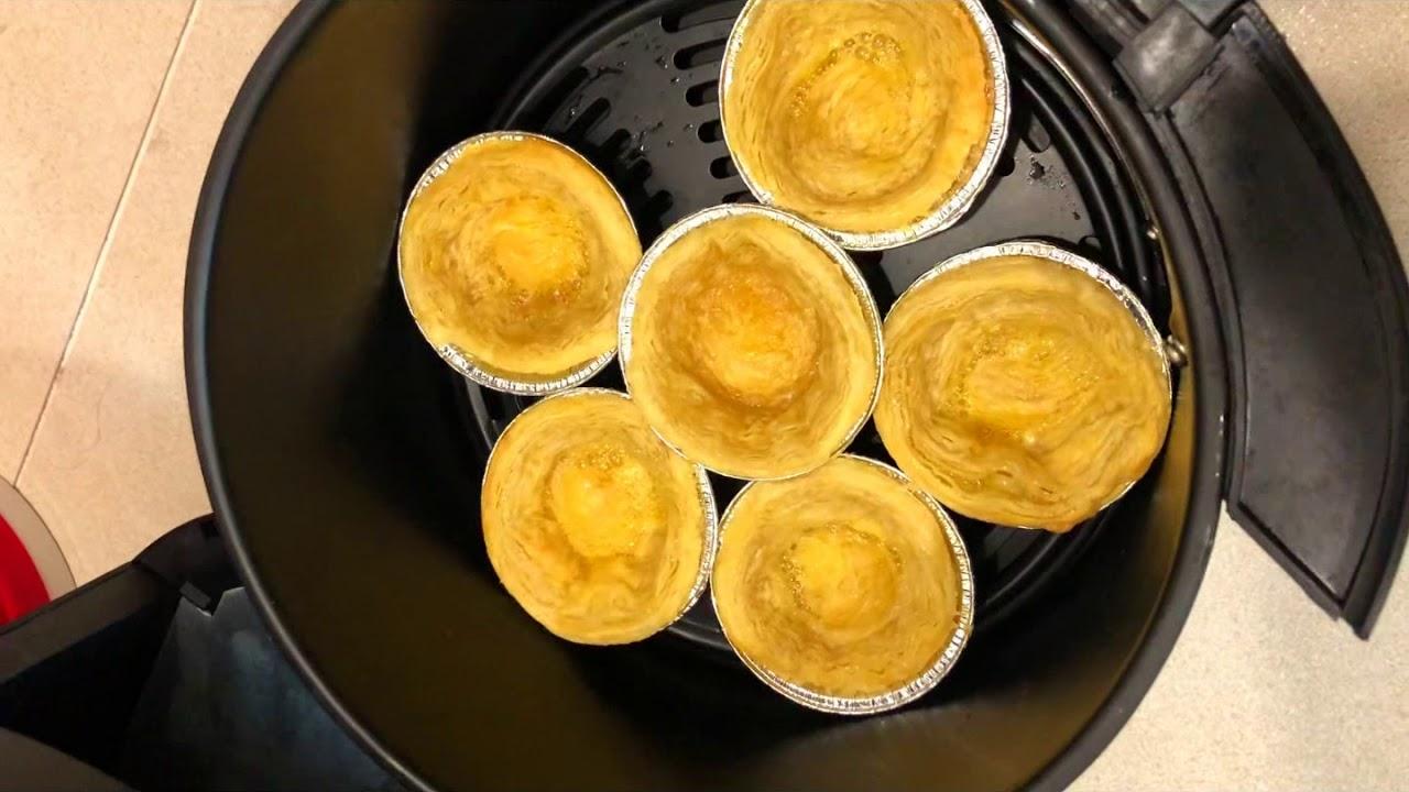 Nướng bánh bằng nồi chiên không dầu