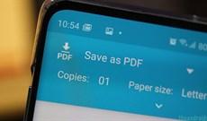 2 cách đơn giản để chuyển trang web thành PDF trong Android