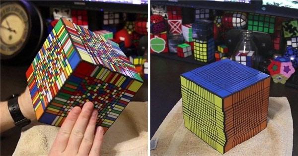 Để giải được khối rubik này, người có bộ óc thiên tài cũng phải mất hơn 7 tiếng