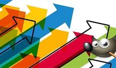 Hướng dẫn vẽ hình mũi tên bằng GIMP