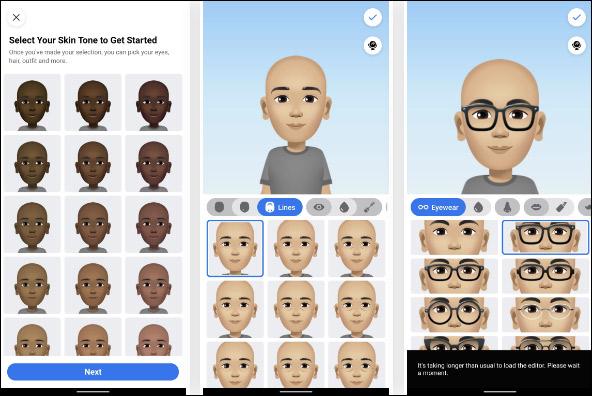 Cách tạo avatar cho riêng mình, tự tạo sticker Messenger, tạo avatar Facebook - Ảnh minh hoạ 3