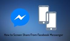 Cách chia sẻ màn hình Messenger khi gọi video