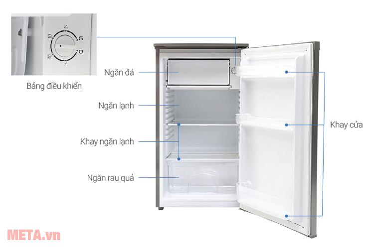 Tủ lạnh Beko RS9050P 90 lít