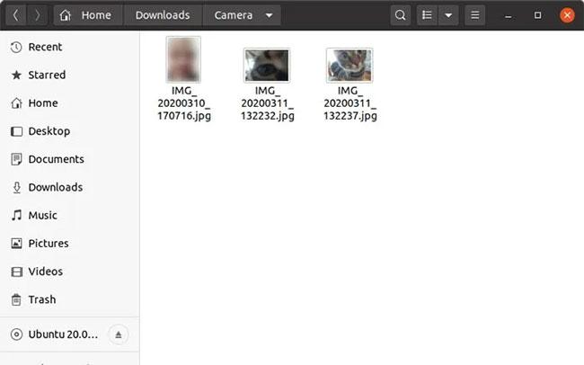 Giải nén file zip để truy cập các file