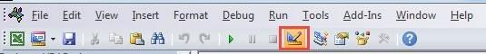 Các macro trong file đều ở chế độ Design