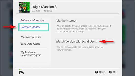 Tính năng chia sẻ mới của Nintendo Switch