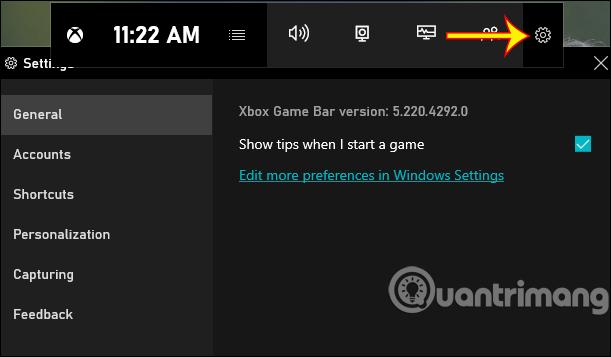 Quay video màn hình bằng Game Bar