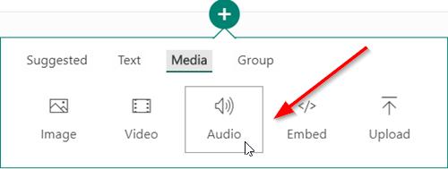 Biểu tượng Audio