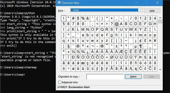 Danh sách lớn các ký tự Unicode có thể sao chép và sử dụng