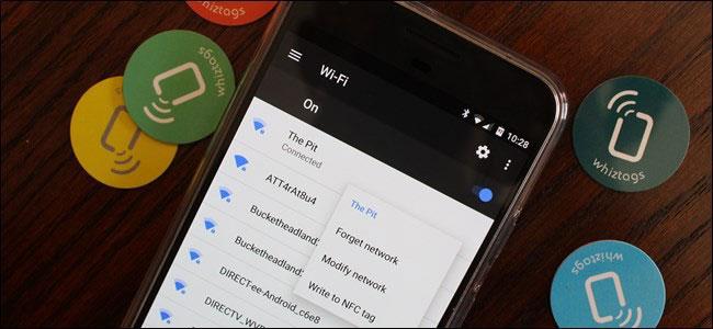Kết nối với mạng WiFi bằng NFC