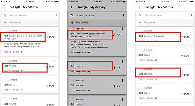 Sử dụng các lệnh thoại Google Home trên Chromecast