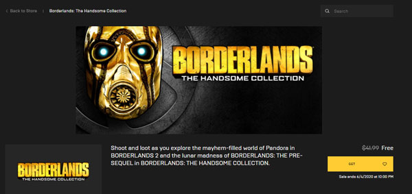 Borderlands: The Handsome Collection miễn phí