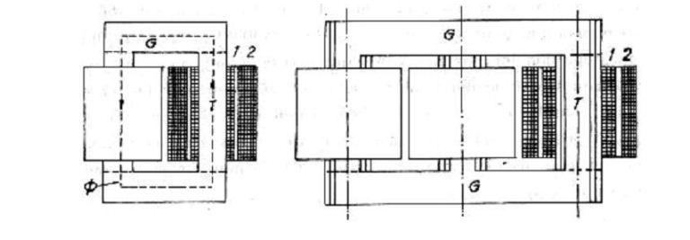 Bộ phận lõi thép của máy biến áp