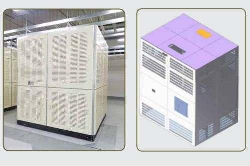 Vỏ máy biến áp gồm nắp thùng và thùng