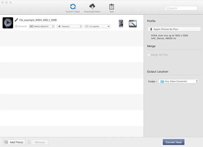 Kéo file vào AVC và phần mềm sẽ upload video lên