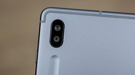 Cụm camera của Galaxy Tab S6