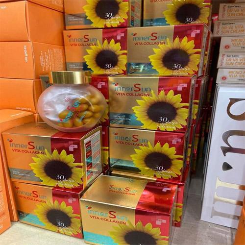 Viên chống nắng Inner Sun Vita Collagen Hàn Quốc