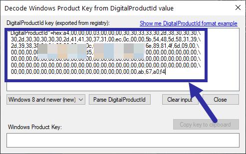 Nhấn phím tắt Ctrl+V để dán code HEX đã sao chép