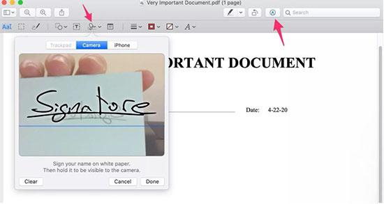 Cửa sổ Preview trên Mac