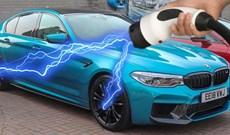 BMW sắp trình làng mẫu M5 chạy điện 100%, hơn 1000 mã lực, sẵn sàng thách thức Tesla Model S
