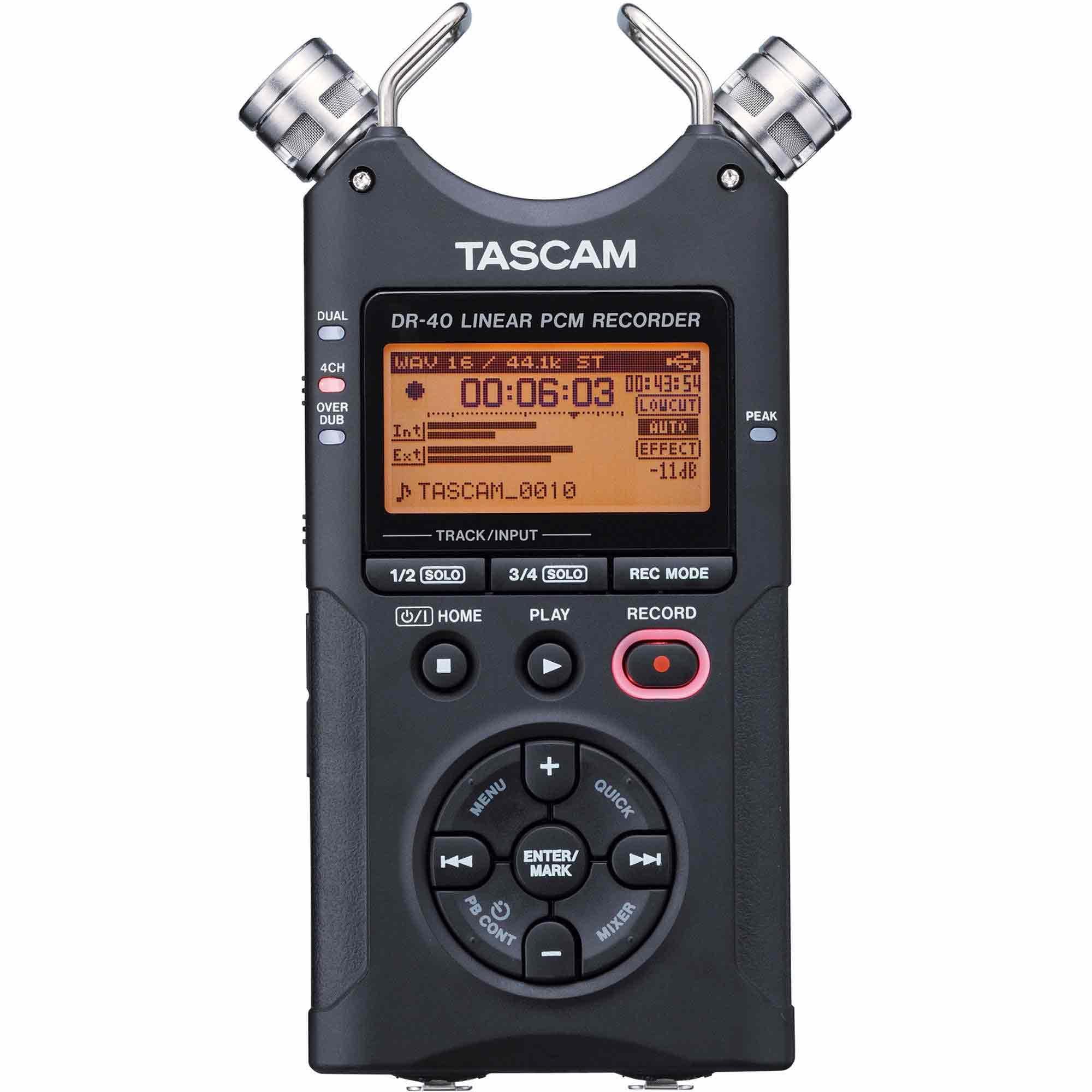 Máy ghi âm Tascam DR 40
