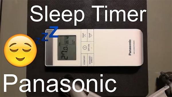 Chế độ ngủ đêm trên Panasonic