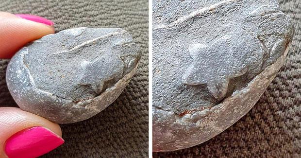 Mẹ thiên nhiên tạo ra viên đá hình ngôi sao kỳ diệu
