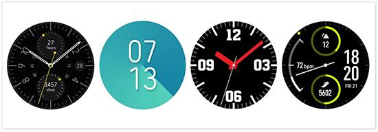 Một vài mặt đồng hồ trong cửa hàng ứng dụng