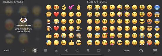 Bàn phím Emoji