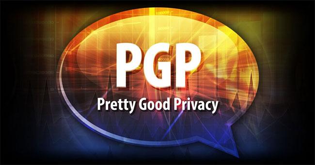 PGP là viết tắt của cụm từ Pretty Good Privacy