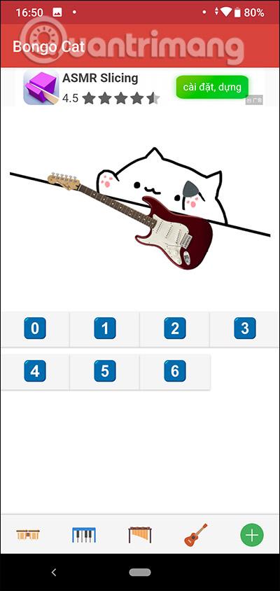 Tạo beat nhạc cho ghita
