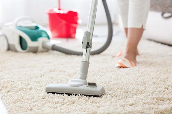 Cách giặt thảm lông xù